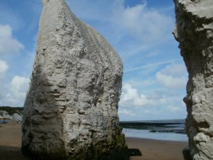 Kingsgate cliffs, Kentish coast